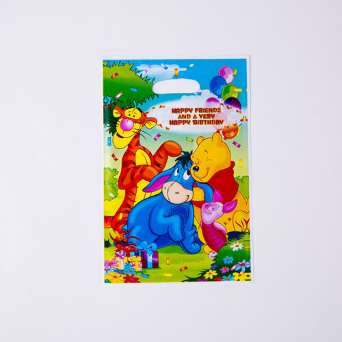 1set Party geburtstag Gedeckter Tischdeko Winnie Pooh Hüte Gebläse Teller Hörn