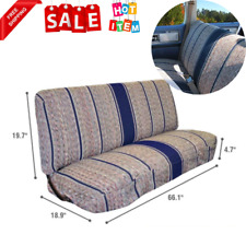 Truck Bench Seat Cover Saddle Blanket Navy Blue 1pc Full Size Ford Chevrolet