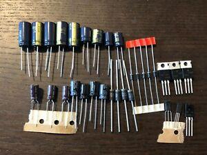 Pioneer-QX-747-Power-Supply-Board-Recap-Kit-Capacitor-Upgrade-Rebuild-Set