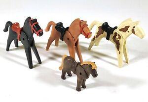 Vintage-Playmobil-Horses-amp-Pony-F619