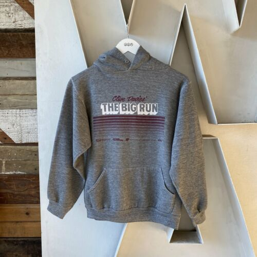 Vintage Heather 70s Russell The Big Run Hoodie Cl… - image 1