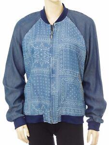 Pepe Blouson Pl401216 Willow Bombers Jacket L Modèle Jeans Femme Taille 7qxpwg7O