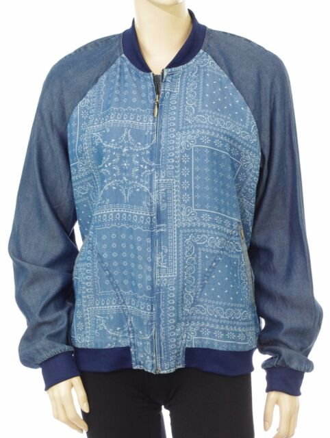 3d289138696 Blouson Bombers jeans PEPE JEANS femme WILLOW Jacket Taille L modèle  PL401216
