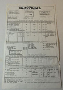 DAWSON'S CREEK set used CALL SHEET ~ Season 6, Episode 8