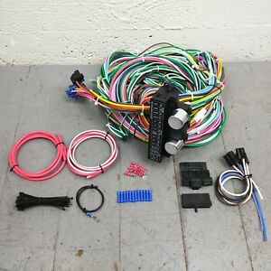 1955 - 1959 Chevy Truck Wire Harness Upgrade Kit fits painless ... Painless Wiring Harness Chevy Truck on painless wiring systems, painless wiring tool, painless wiring for 68 camaro, painless wiring 81, painless wiring kits, painless 5 3 harness,