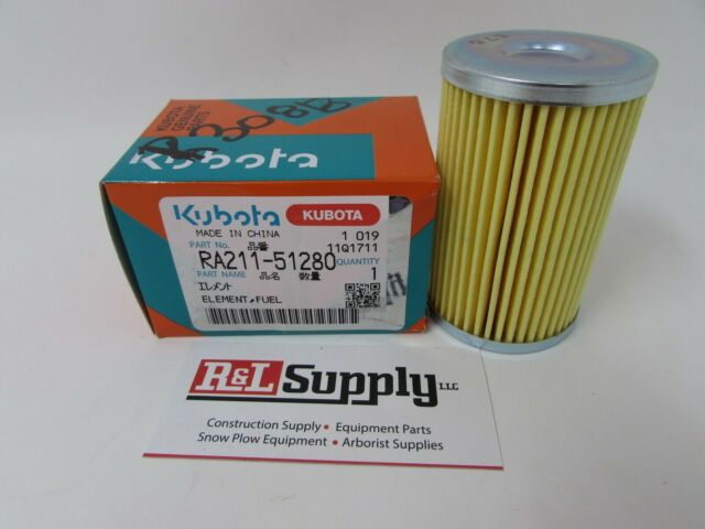 kubota fuel filter element excavator part ra211 51280 Suzuki Fuel Filter