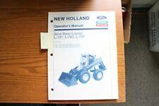 New Holland L 781 L 783 L 785 Skid Steer Loader Operators Manual 1990