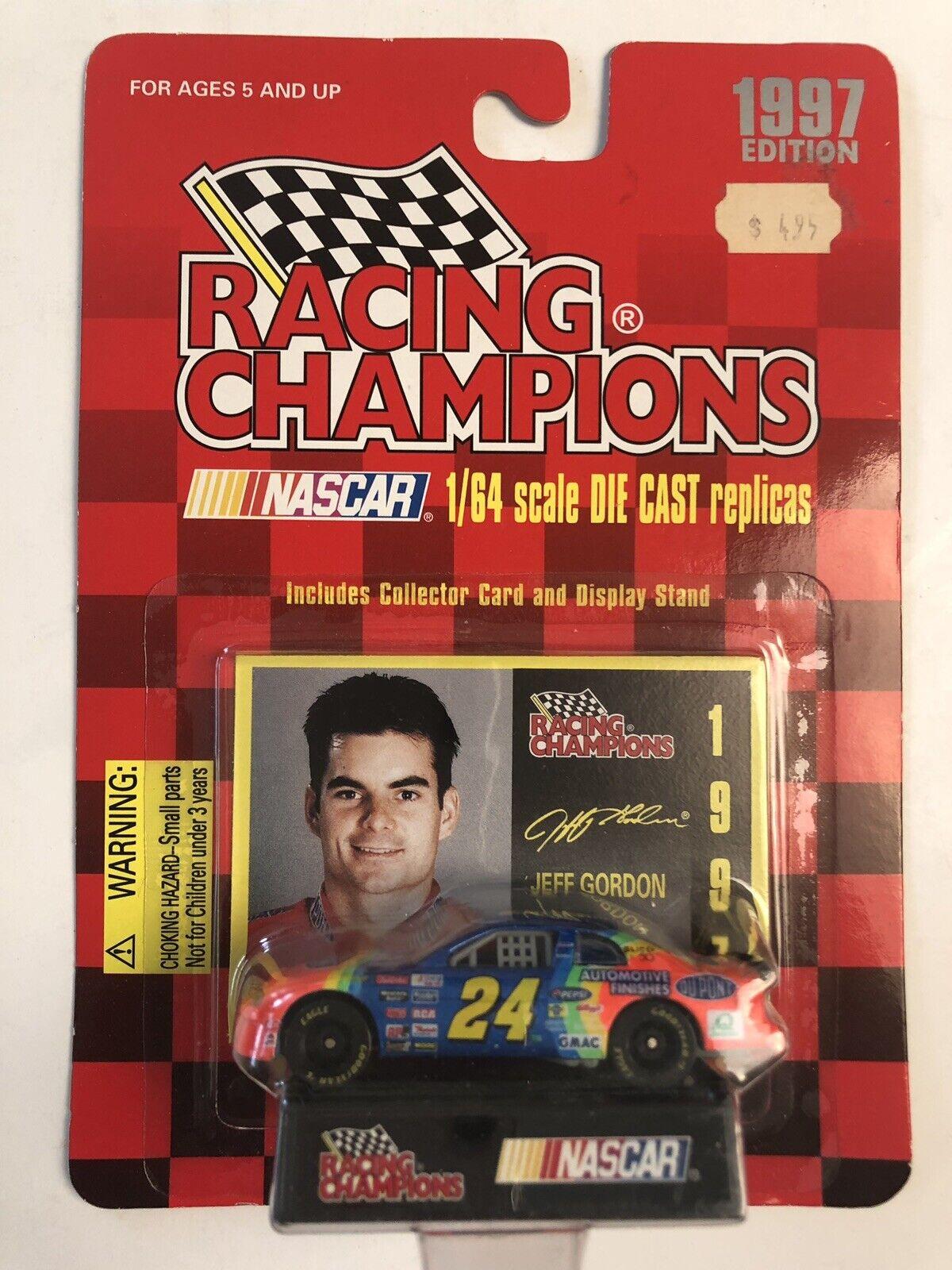 NASCAR 1997 Racing Champions 1 64 JEFF GORDON Dupont Chevrolet Monte Carlo