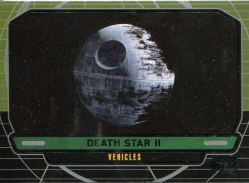 Star Wars Galactic Files Series 1 Base Card #289 Death Star II