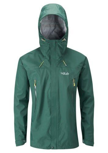 Rab Men/'s Bergen Waterproof Jacket Fir Green