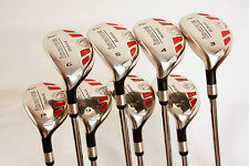 NEW LEFT HANDED SENIOR LADY ALL HYBRIDS 3-9 HYBRID PW LADIES WOMENS GRAPHITE SET