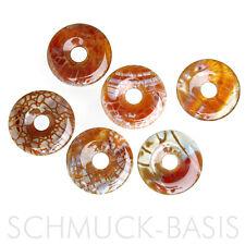 Feuerachat - Donut 3 cm; 1A Qualität; Indonesien