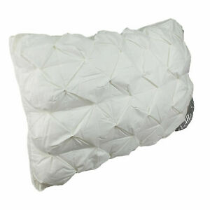 Pack-of-1-or-2-Waffle-Warm-Pillows-Hotel-Quality-Extra-Soft-Hollow-Fibre-Filling