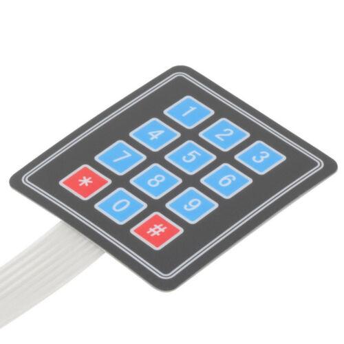 1//2//5//10PC Matrix Array 12 Key Membrane Switch Keyboard For Arduino AVR 4x3