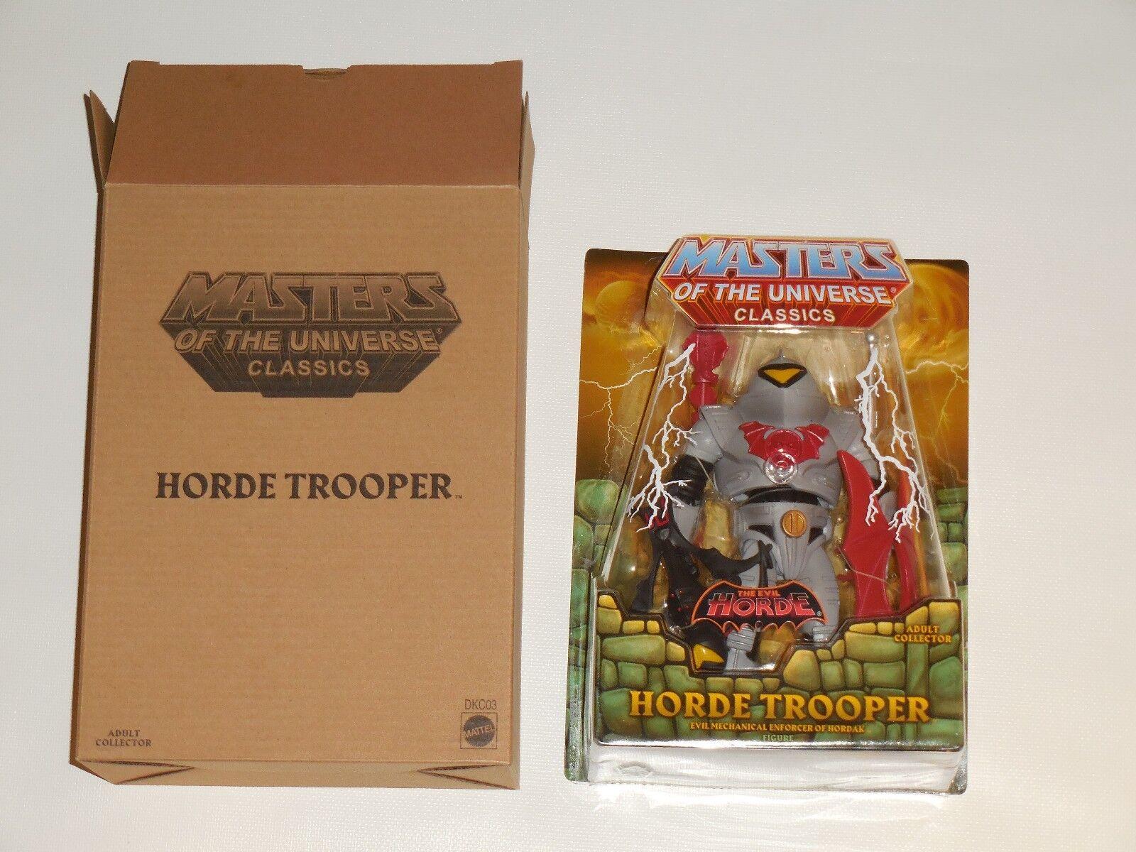HORDE TROOPER Figure MOTUC Mattel Shop EXCLUSIVE He-man