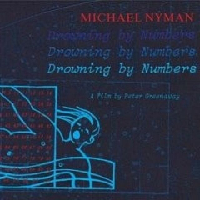 "MICHAEL NYMAN ""DROWINING BY NUMBERS"" CD NEUWARE"