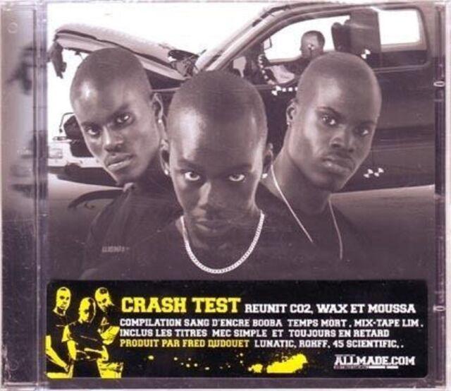 CRASH TEST  CO2, Waw et Moussa compil (CD) 2006 -NEUF-