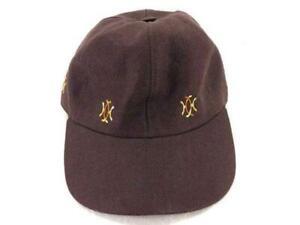 Hermes-Brown-Logo-Baseball-Cap-Hat-232500