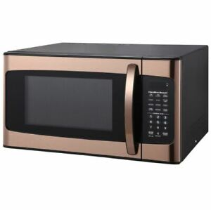 Countertop-Microwave-Oven-Powerful-Kitchen-Cooker-Popcorn-Pizza-Counter-Top-Gold