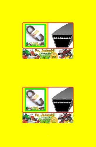 754-0280 Keilriemen für MTD Fahrantrieb+Variator 2 stück 754-0281