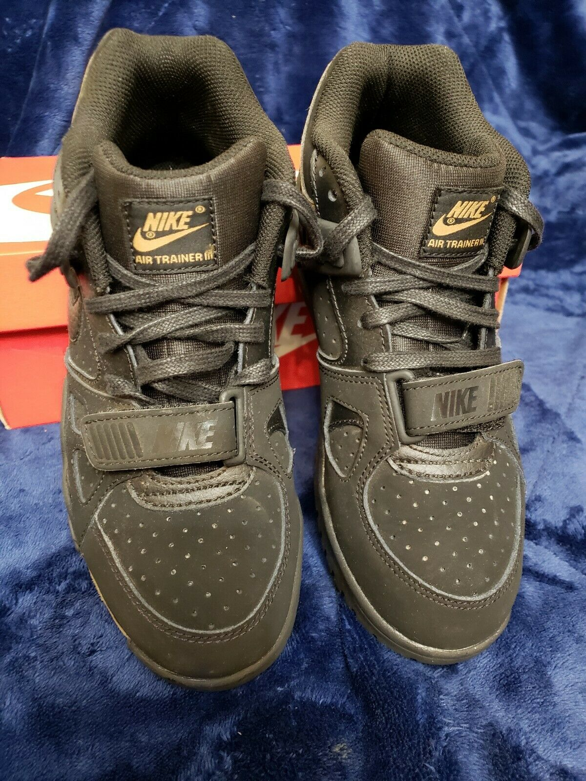 ddaaf25d73750 Nike air trainer 3 Super Super Super Bowl 50 Limited Edition Size 5y 2b6aca