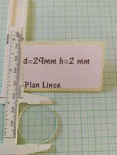 5 Stück d=38mm h=5mm Plan-Konvex Optische Linse Optik 3D aus Glas