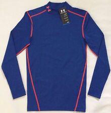 NWT Men's Under Armour ColdGear Compression Mock Long Sleeve Shirt XL MSRP $50
