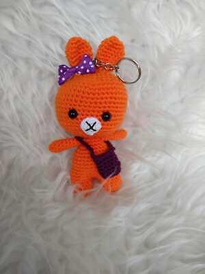 Baby Knitting Patterns Elfin Thread Baby Beer Amigurumi Keychain ... | 400x300