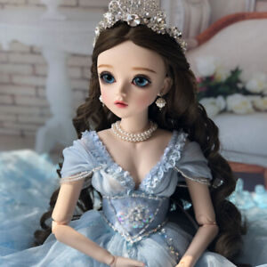 FULL-SET-60cm-BJD-Doll-Puppe-1-3-Huebsche-Maedchen-Puppen-With-Clothes-Girl-Toys