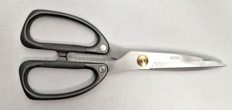 Grunwerg Stainless Steel Metal Handle General Purpose Kitchen Scissors Shears MS
