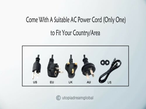 4-Pin AC Adapter For EDAC EDACPOWER EA11001A-120 ITE Power Supply Cord Charger