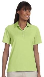 Ashworth-Women-039-s-Green-Pique-Polo-Shirt-size-Small-283