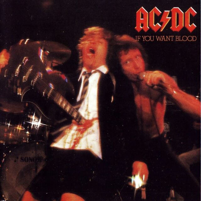 AC/DC 'IF YOU WANT BLOOD YOU'VE GOT IT' 2003 LP 180G VINYL NEW / FACTORY SEALED