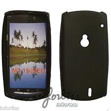 Carcasa Funda gel Sony Ericsson Xperia neo MT15i  black case TPU