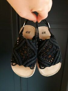 H\u0026M Baby Girls Rope Sandal Crochet