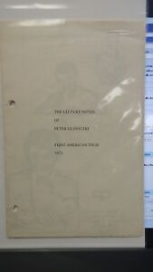 Peter-Gloviczki-Lecture-Notes-First-American-Tour-1971