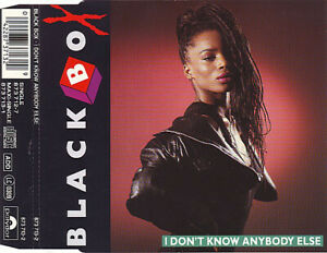 Black-Box-Maxi-CD-I-Don-039-t-Know-Anybody-Else-Germany-EX-VG