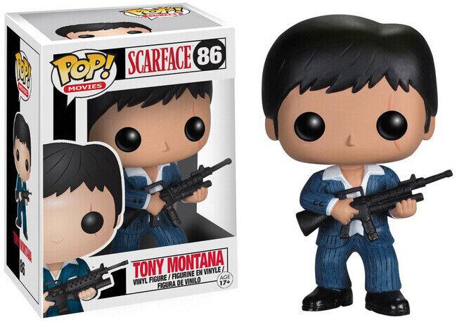 Funko Pop Vinyl Movies Scarface Tony Montana  86 VAULTED