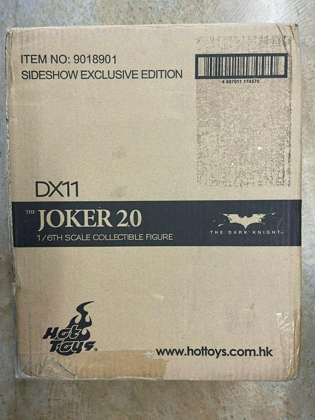 HOT TOYS JOKER 2.0 DX11 The Dark Knight Sideshow Exclusive Edition 100% COMPLETE on eBay thumbnail