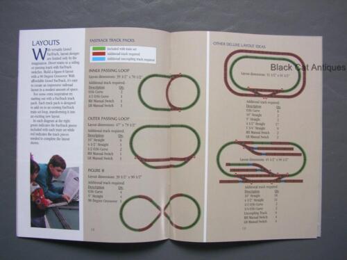Original 2002 Lionel Model Trains /& Accessories Pocket Catalog