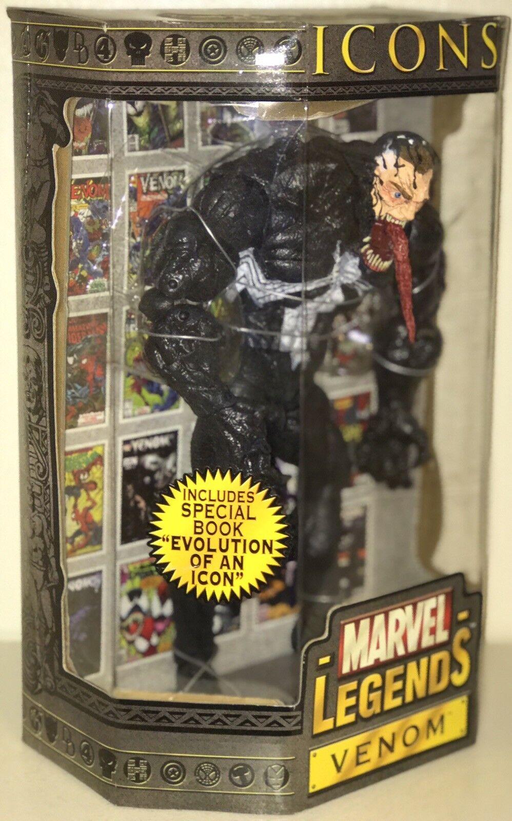 Marvel Legends Icons 12  Figure Unmasked Venom 30+pts New Sealed 2006