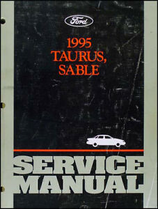 1995 ford taurus and mercury sable original shop manual