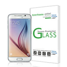 Samsung Galaxy S6 Glass Screen Protector Tempered Front and Pet Back amFilm