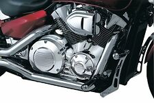 Kuryakyn Chrome Engine Motor Case Cover Dress Up Accent Trim Kit Honda VTX 1300