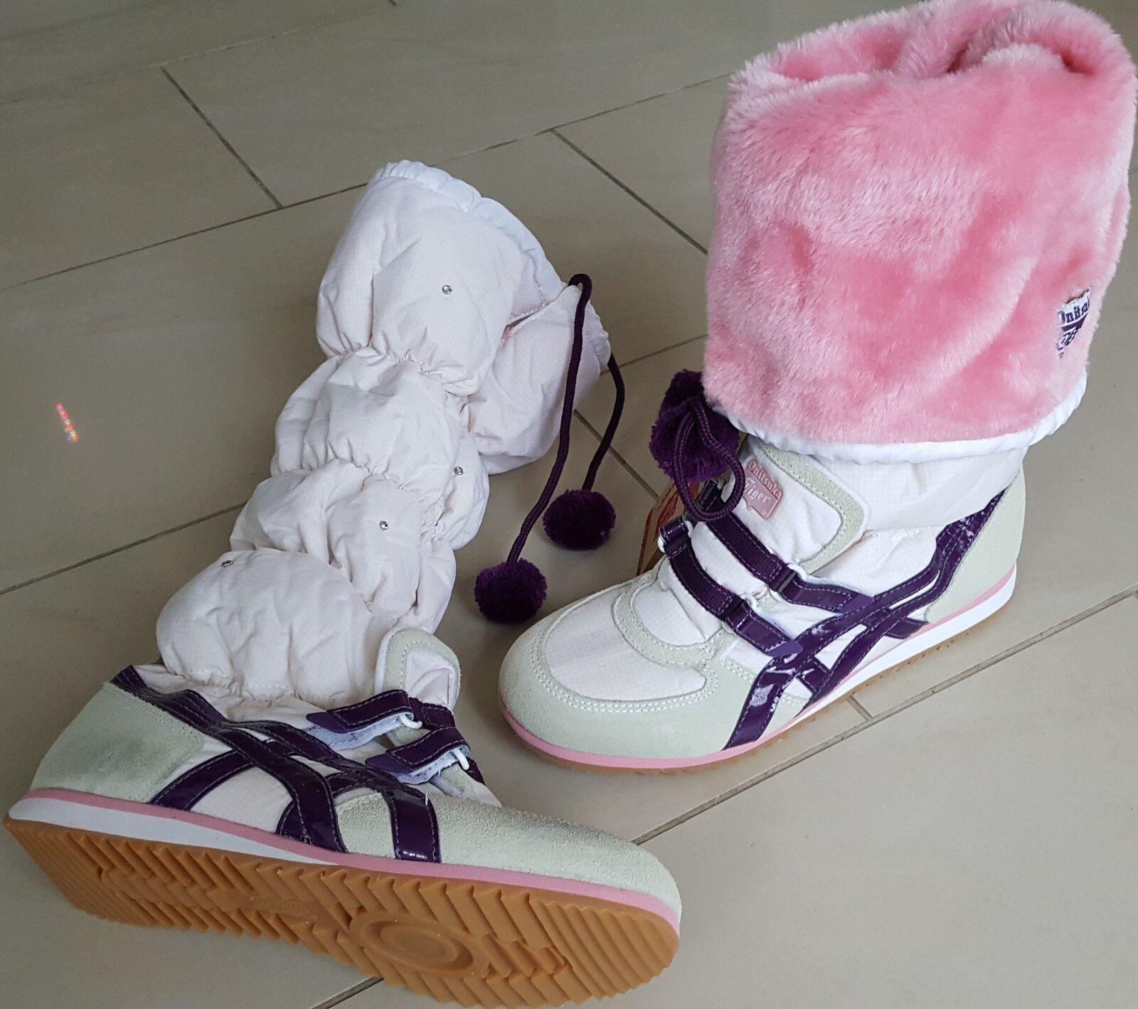 ASICS Onitsuka Tiger Damen Stiefel Snow Heaven72,NEU,Gr39,5Weiß Heaven72,NEU,Gr39,5Weiß Snow Lila Bäsch-Cream c6a5b9
