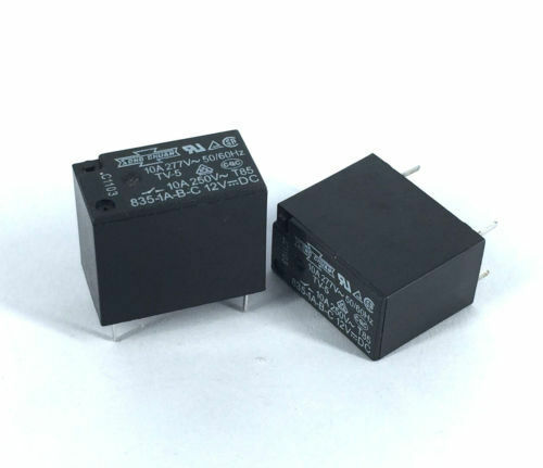 2pcs 835-1A-B-C 12V 10A PIN:4P SONG GHUAN Relay CAPT2011