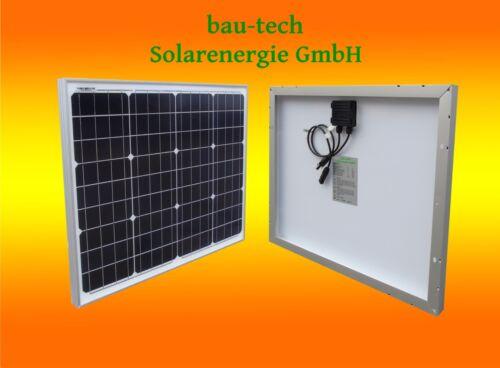 1 X 50w Panneau Solaire,Module Solaire 12v Mono pour Jardin Bateau Camping