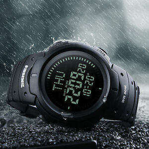 Men-Compass-Watch-Countdown-LED-Digital-Wrist-Watches-Outdoor-Military-Black