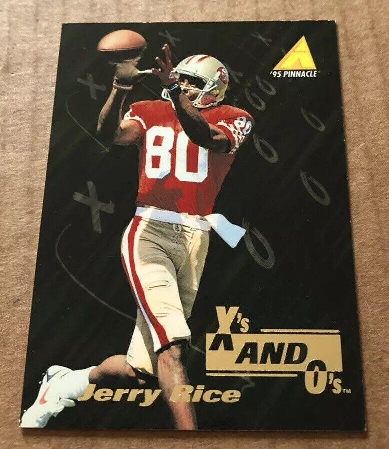 1995 Pinnacle Zenith Season Jerry Rice #SS22 Second Salón De La Fama