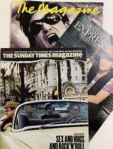 U2 Sunday Times Magazines & Sunday Express Magazine: Oct 1988,Nov 2004,July 1993